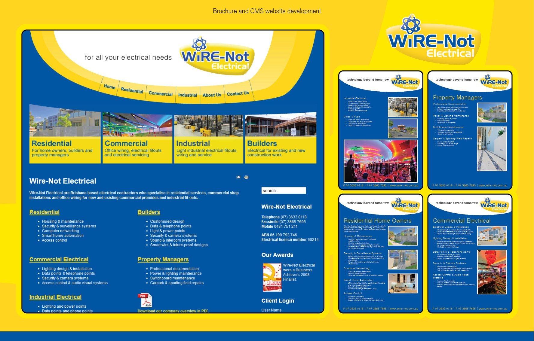 Portfolio - work at Wire-Not