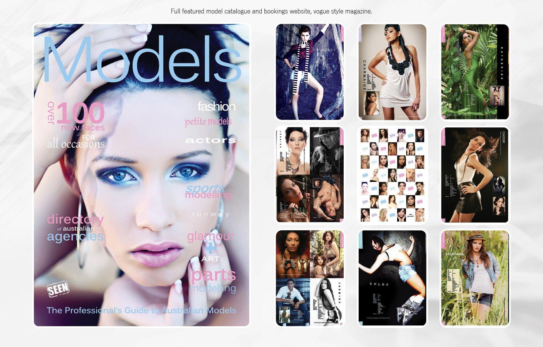 Portfolio - time at Seen Models