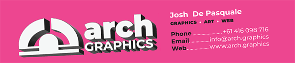 Arch Graphics Email Signature