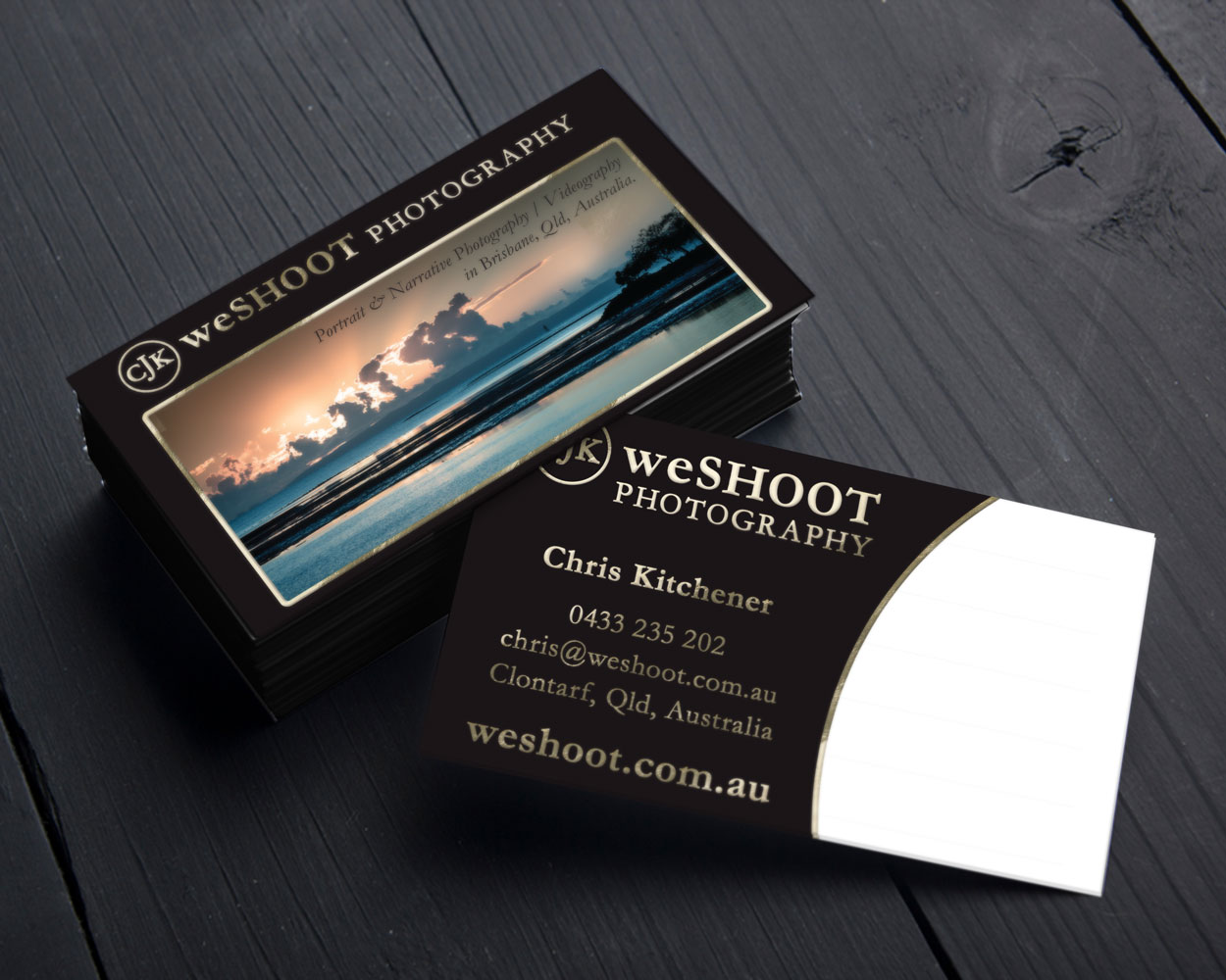 WESHOOT Business Cards